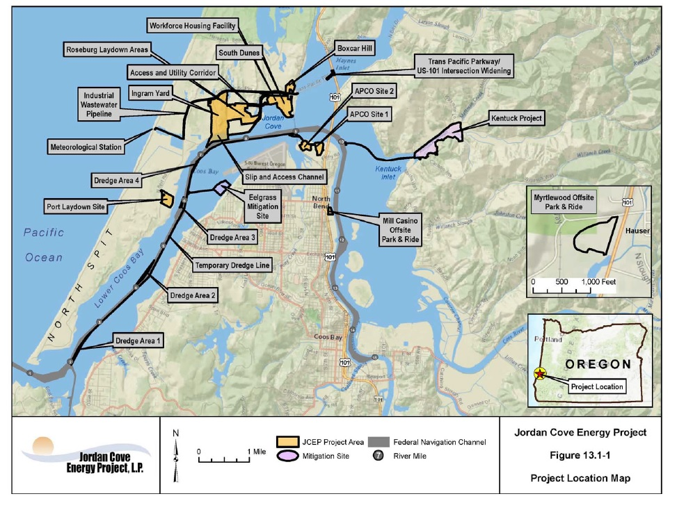LNG Export Terminal Planned For Oregon | Gas Compression Magazine