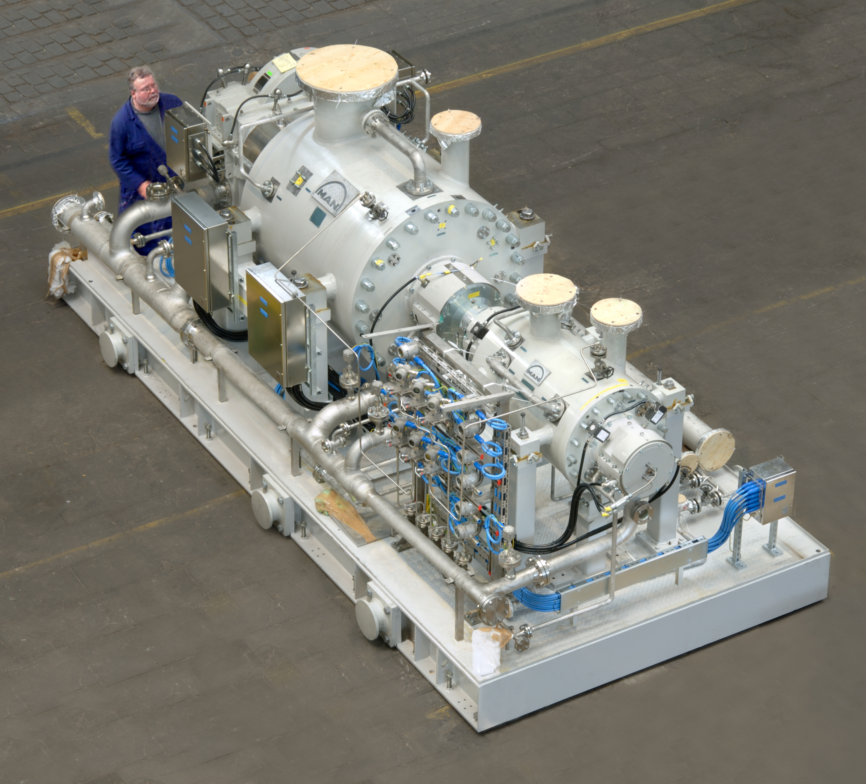 Nine Compressor Trains For Kuwait Oil Company | Gas