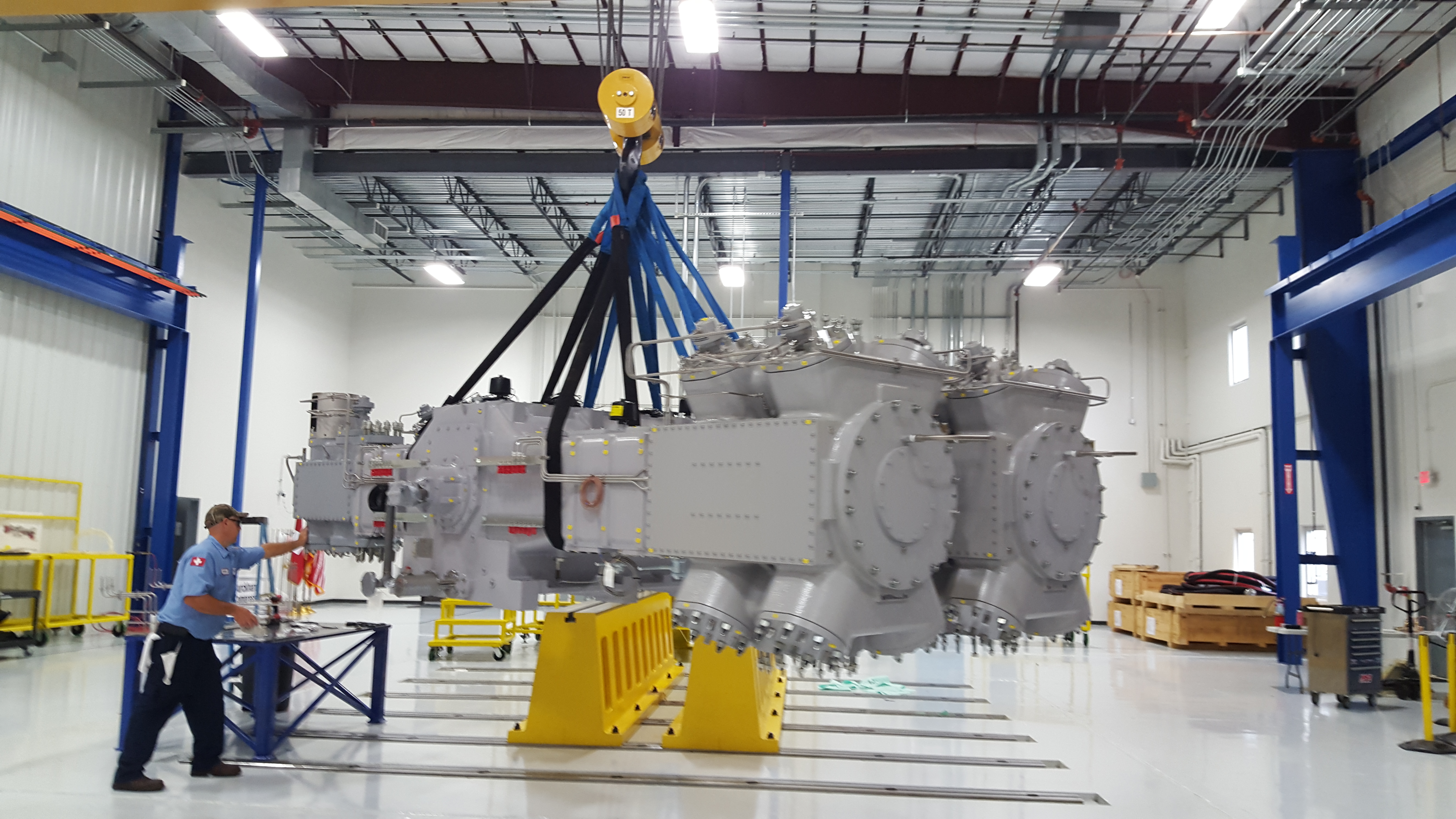 Burckhardt Compression To Supply Gas Compressor Systems For